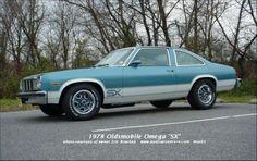 1978 Oldsmobile Omega SX. It looks like a mini 442