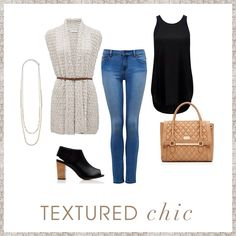Textured chic-forever new