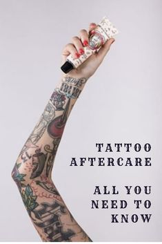 How to Take Care of a Tattoo? Tattoo Aftercare During the First Days Tattoos And Body Art tattoo care