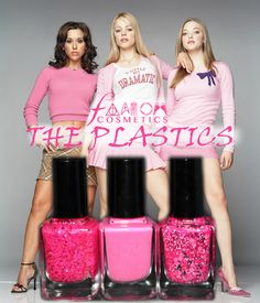 """""""The Plastics"""" - A Mean Girls Inspired Nail Polish Collection"""
