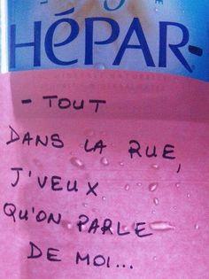 #balavoine détournement Le chanteur, Hepar