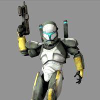 """""""Scorch"""" fue el apodo de un comando clon de élite que formó parte del Escuadrón Delta durante..."""