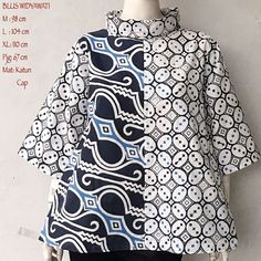 Batik Blouse Combination