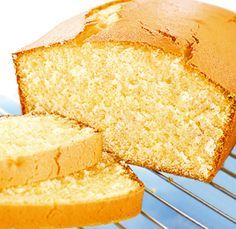 Lindy Smith shares her recipe and tips, from years of baking experience, to help you bake the perfect Madeira cake. Armed with these valuable tips you will struggle to bake this delicious cake no more! Cake Recipes Uk, Sponge Cake Recipes, Sweet Recipes, Baking Recipes, Dessert Recipes, Easy Lemon Sponge Cake Recipe, Madera Cake, Mini Cakes, Cupcake Cakes