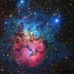 Trifid Nebula in Sagittarius, my second favourite nebula :-)