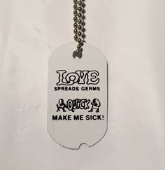 Dog Tags  Novelty Items by AllThingsWood on Etsy