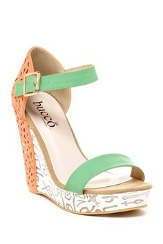 Bucco Bethes Cutout Platform Wedge by Shoe Obsessions on @HauteLook