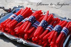 Seattle Style File: Fourth of July- Cute Snack with Redvines
