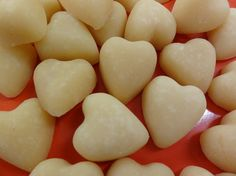 Scottish Tablet Hearts for Wedding Favours Qty by bakingsinsations, £11.00