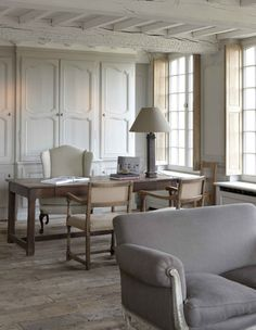french chic office space