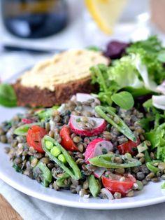 Quick and Easy Lentil Yogurt Salad