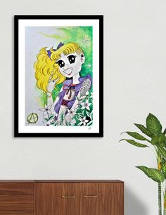This limited edition Giclée Art Print, designed by Stavroula Christopoulou, comes with a numbered and signed certificate of authenticity. Printed on 100% cotton, acid-free, heavyweight paper using HDR UltraChrome Archival Ink, this artwork reflects our commitment to the highest color, paper, and...