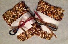Almond-Cranberry Super Grain Bars (gluten-dairy-free)