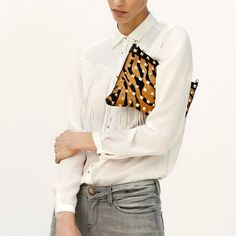 Fancy - Studded Tiger Clutch