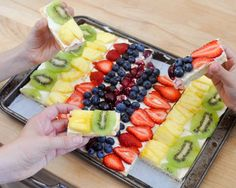 Beki Cook's Cake Blog: Fruit Pizza {AKA The Best Summer Dessert for a Gathering}