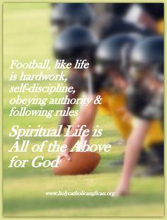 FOOTBALL, LIFE AND GOD | Godinterest