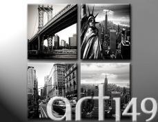 Najwspanialsze symbole Nowego Yorku. Jeśli uwielbiasz klimat tego niezwykłego miasta, to musisz obejrzeć obrazy z naszej kolekcji Podróże.