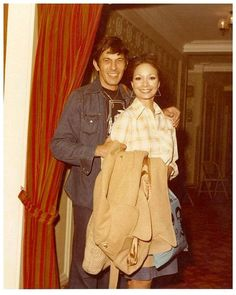 """ >> Leonard Nimoy & Arlene Martel (who played his betrothed Vulcan wife in Amok Time"