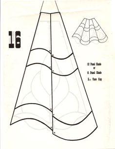 """Résultat de recherche d'images pour """"stained glass lamp patterns"""""""