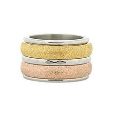 iXXXi Ring Komplett 1 Stapelring gold rosegold