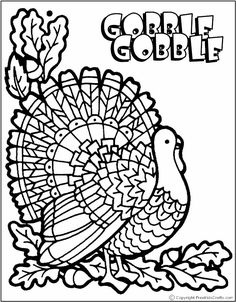 86 Best Fall, halloween & thanksgiving coloring pages