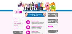 Diseño de página web para empresa de comedores escolares