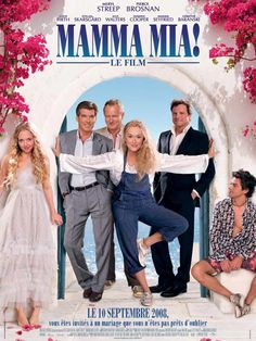 Directed by Phyllida Lloyd. With Meryl Streep, Pierce Brosnan, Amanda Seyfried, Stellan Skarsgård. The story of a bride-to-be trying to find her real father told using hit songs by the popular group ABBA. Pierce Brosnan, Mamma Mia, Amanda Seyfried, Meryl Streep, Love Movie, Movie Tv, Crazy Movie, Movies Showing, Movies And Tv Shows