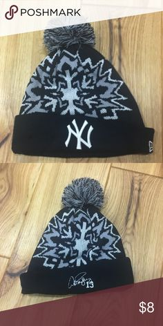 New York Yankees snow hat Alex Rodriguez NY Yankees snow hat. Never worn and in excellent condition. Accessories Hats