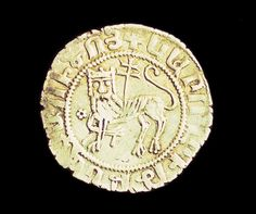 METALWORK & ENGRAVINGS - King Levon I, Silver, Reverse, Erevan, Erevan, State Historical Museum, 1198-1219...