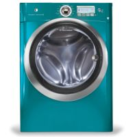 Milcarsky's Appliance Centre' ~ Electrolux 4.7 Cu Ft Front Load Steam Washer Turquoise Sky