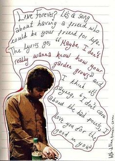 Noel Gallagher Use this picture format for the journal Oasis Quotes, Music Stuff, My Music, Oasis Lyrics, Liam And Noel, Oasis Band, Estilo Rock, Noel Gallagher, Britpop