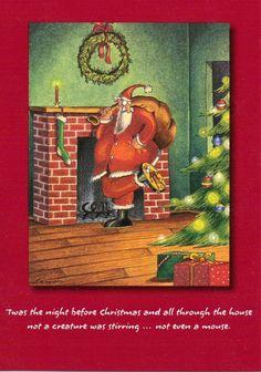 100 The Far Side Gary Larson Christmas Cards Twas The Night Before Christmas Comics, Christmas Jokes, Christmas Cartoons, Christmas Fun, Christmas Cards, Xmas, Far Side Cartoons, Far Side Comics, Funny Cartoons