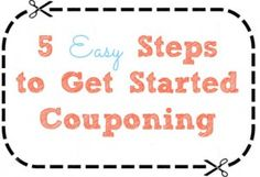 New to the couponing game? Start living the frugal life and saving money in 5 easy steps.