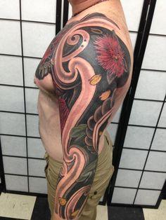 Maori / Japanese Tattoo Gallery - Zealand Tattoo