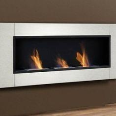 Mantén caliente tu salón con chimeneas de bioetanol. Modelo Rimini