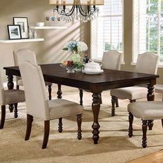 Furniture of America Edella Classic Antique