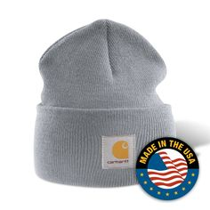 04c215b19eb Carhartt Heather Gray Acrylic Watch Beanie