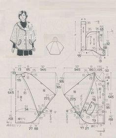 700 блузка размер :  9, 11, 13, 15 ( таб.№4) при выборе размера , не забываем , что в япон. выкройках заложена большая прибавка на свободу ( н-р ,размер 15 идёт по таблице  на Ог 100см , по выкройке …