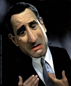 Robert DeNiro Celebrity Caricatures