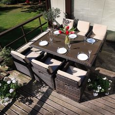 Cube 6 Seater Patio Seating.