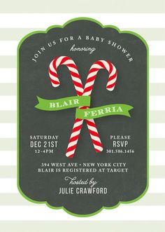 Celebrate the little one on the way with a unique Baby Shower invitation from Minted.