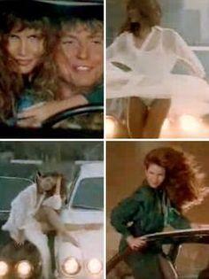 Tawny Kitaen in those Whitesnake videos