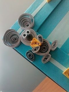 23 Easy Paper Quilling Ideas For Kids – Quilling Techniques Arte Quilling, Paper Quilling Patterns, Quilled Paper Art, Quilling Paper Craft, Paper Crafts, Quilling Ideas, Art Crafts, Quilled Creations, Quilling Techniques