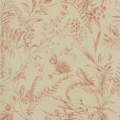 Ralph Lauren FERN TOILE - VINTAGE TEA Wallpaper - PRL710/07