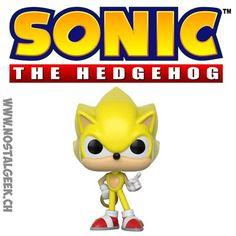 Figurine Funko Pop Games Sonic Super Sonic Edition Limitée geek sui... Funko Pop, Game Sonic, Bd Comics, Pop Games, Pikachu, Geek Stuff, Fictional Characters, Video Games, Geek Things