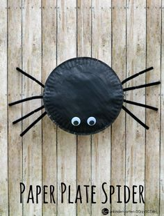 This paper plate spider craft for kids is fun, easy to make, and is a great…