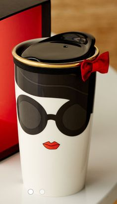 LOVE this alice & olivia traveler mug for Starbucks!  Like last year - these will sell out fast! http://rstyle.me/ad/ghxanyg6