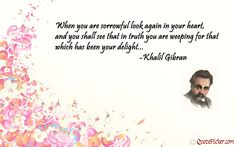 kahlil gibran quotes | Kahlil Gibran Happy Life Quotes - kootation.com
