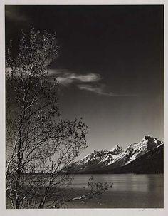 "1940 ADAMS, ANSEL ""Grand Teton from Jackson Lake."""