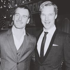 Twitter / TheDeductionGod: Michael Fassbender and Benedict ...